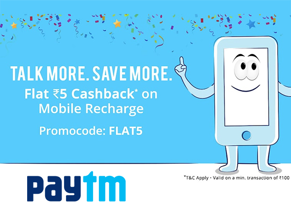 Paytm 'Last Wednesday of the Month' Deals - GET UP TO 60% Off + UP TO 60% Cashback*