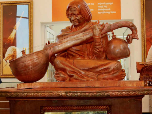 Kuran and Bible was removed near Kalam's statue