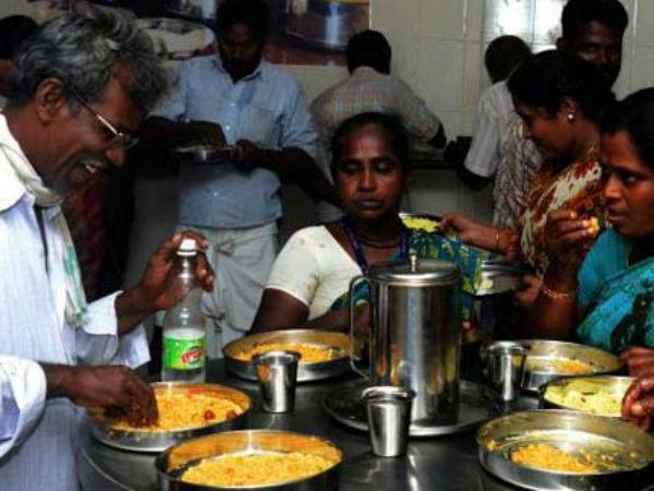 'அம்மா உணவகம்' போல ஆந்திராவில் 'அண்ணா'  கேன்டீன் தொடக்கம்