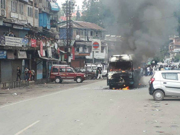 Violence breaks out Gorkhaland protests