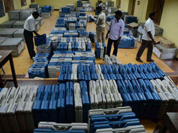 Voting machine brings to chennai today for presidential election