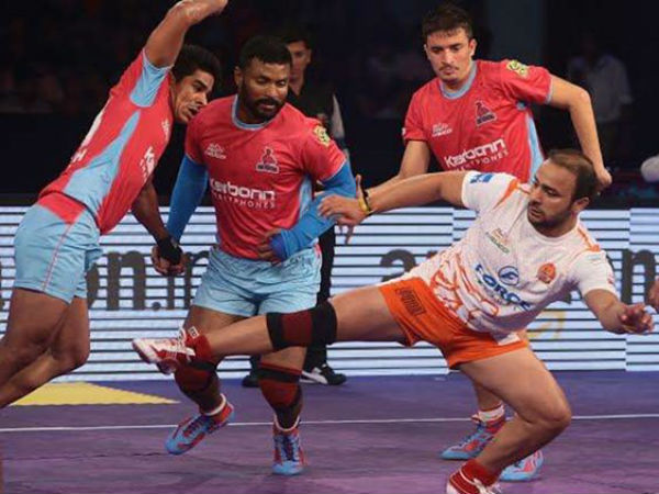 Pro Kabaddi League 2017: Dabang Delhi won Jaipur Pink Panthers