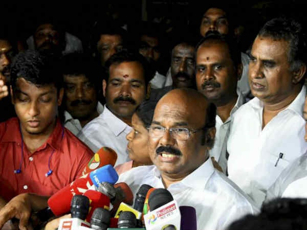 Talk to CM on 1000 theatre issue, says minister Jayakumar