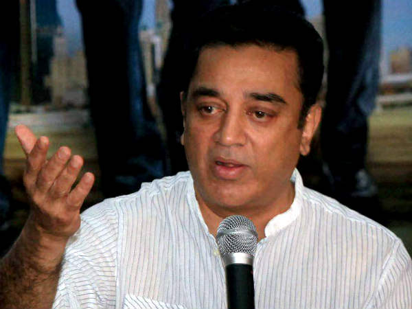 Stop blaming politicians, says Kamal Haasan
