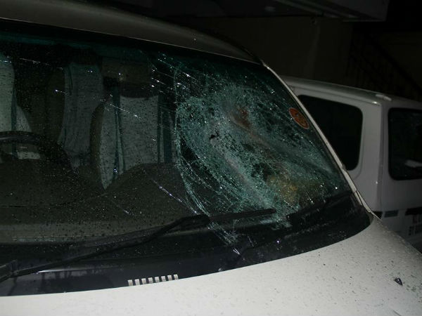 BJP state office attacked in Kerala