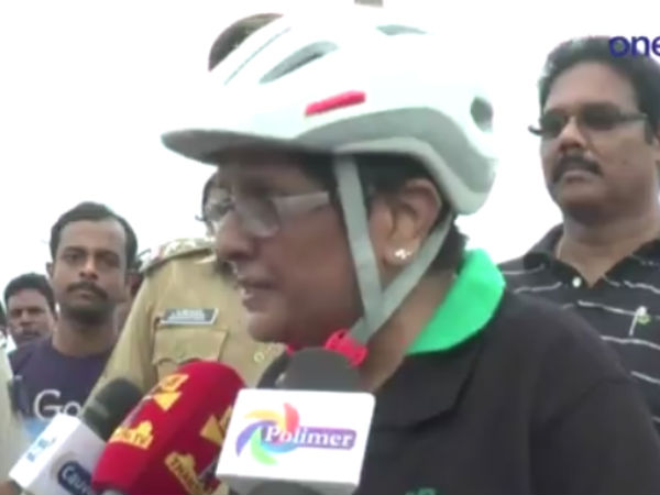 I am doing good for the people said Lt. General Kiran bedi