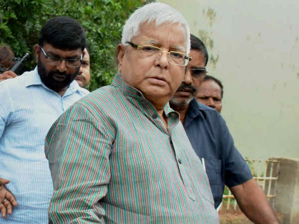 It's a political conspiracy, will not be cowed down, says RJD supremo Lalu Prasad Yadav