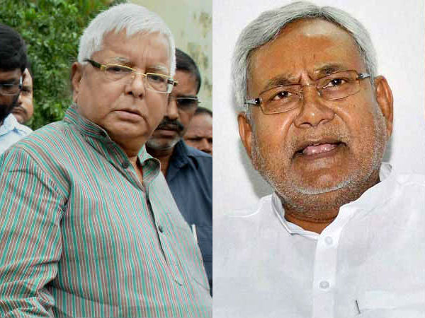 Time line of Lalu Nitish clash