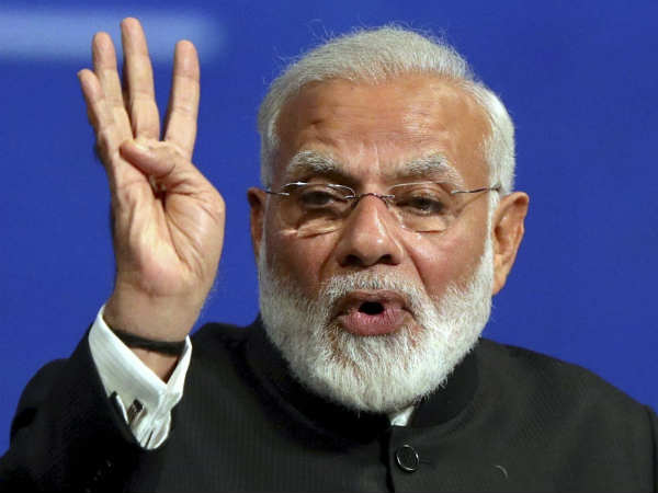 violent protests continued by various rights groups, says modi