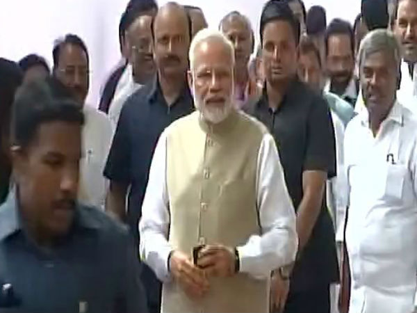 Presidential Poll: PM Modi and BJP chief Amitsha casts their votes