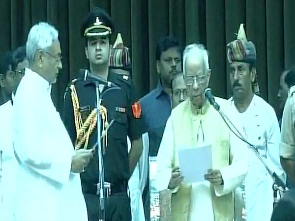 Nitish Kumar sworn-in as Chief Minister of Bihar for the sixth time