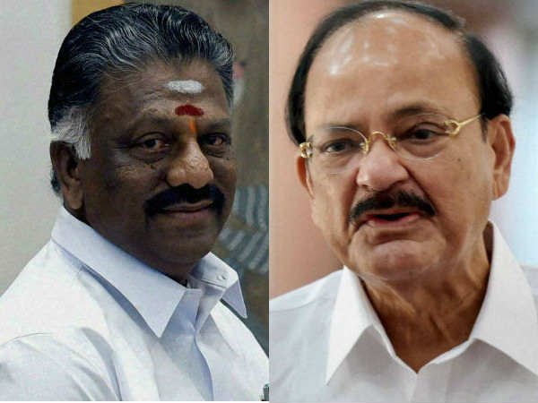 Both OPS and EPS extend support to Venkaiah Naidu