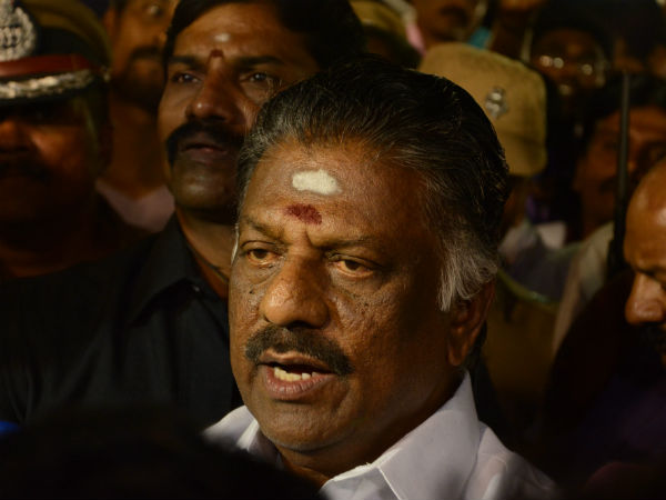 OPS refused Natarajan Statement that the Jayalalitha was keeping him in home arrest
