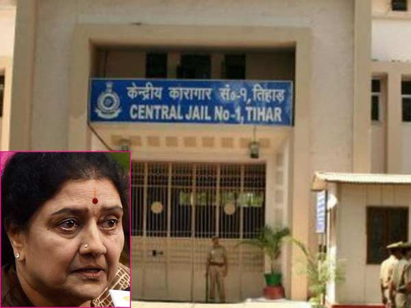 Sasikala should be transferred to Tihar jail