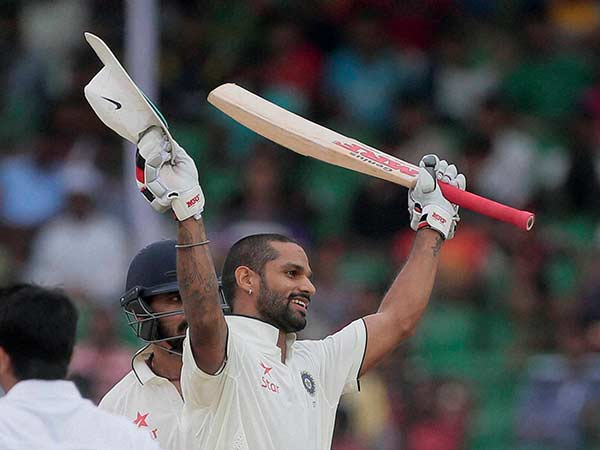 Galle Test: Shikhar Dhawan slams 5th Test hundred