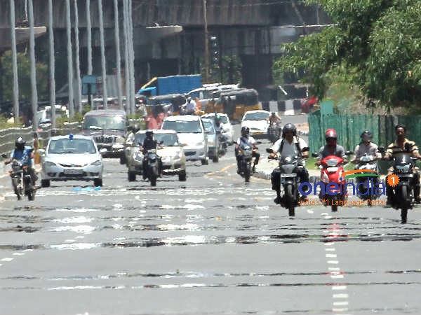 The Meteorological Center has said that its likely to rain in the evening or at night in chennai