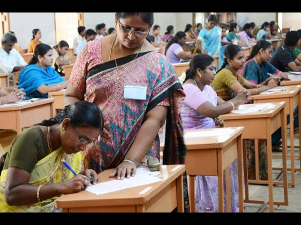 postgraduate teacher selection question paper was changed so that the candidates could not write the exam