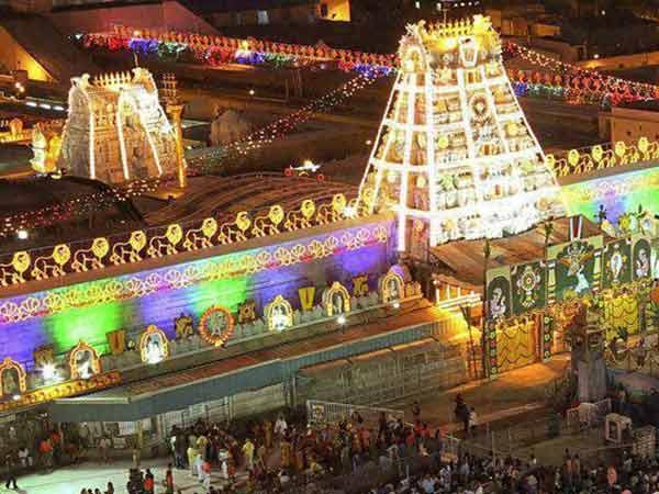 Image result for திருப்பதி கோவில்