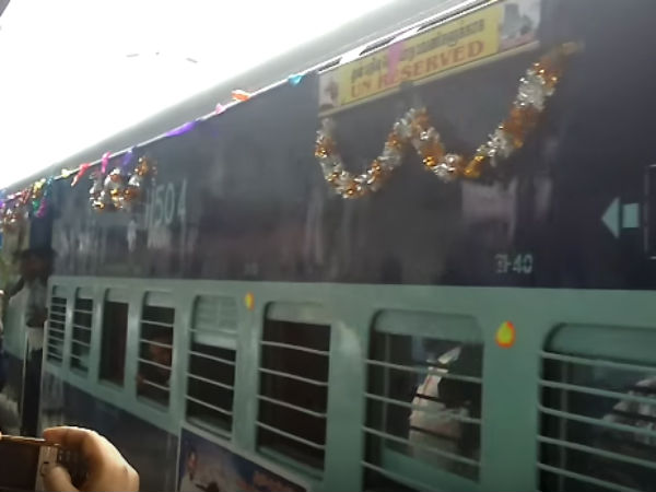 Passengers happy over the Intercity train extended upto Trivandrum