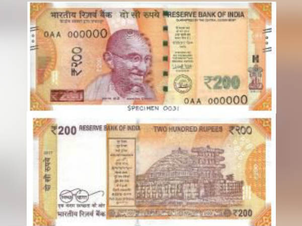 Reserve Bank's announcement on new 200 Rs notes availability