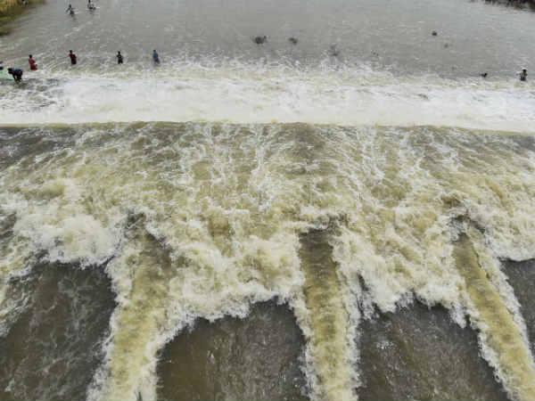தொடரும் கனமழை: செம்பரம்பாக்கம் ஏரியின் நீர்மட்டம் கிடுகிடு உயர்வு... நீர் வரத்தும் அதிகரிப்பு