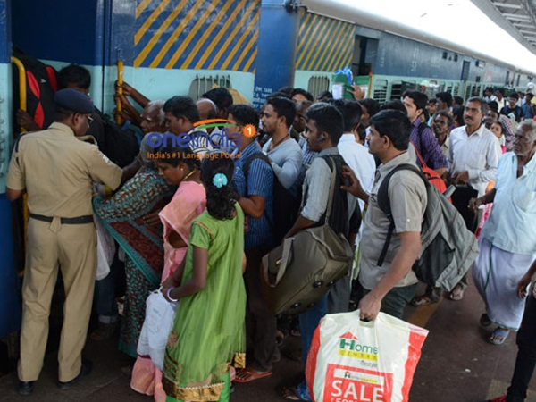 Police protection Increased in Railway stations and Bus Terminus at Chennai
