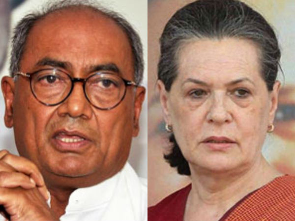 Cong. removes Digvijaya Singh as Telangana incharge