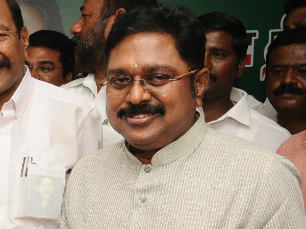 ADMK cadres are running because of TTV Dinakaran's new posting