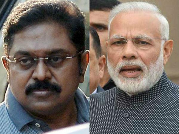 How Modi to Handle TTV Dinakaran