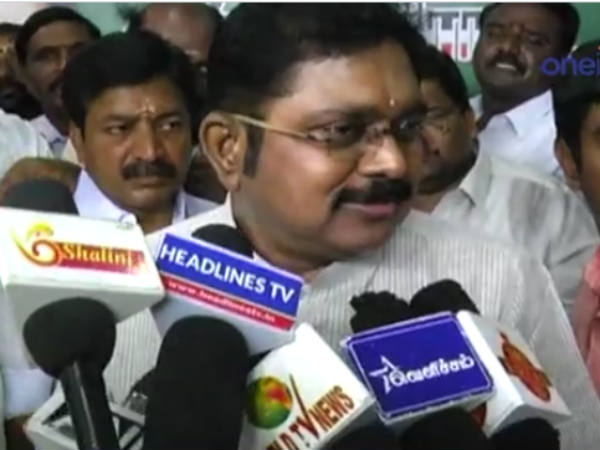 Madurai bench of the HC gives green signal to TTV Dinakaran's Madurai public meeting