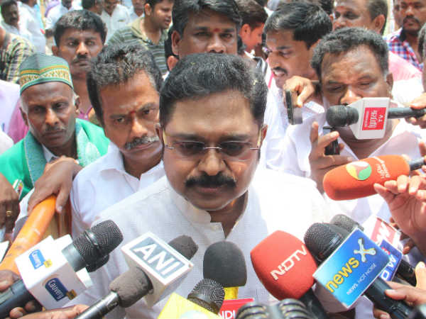 I can not answer for the talk of irresponsibility persons: TTV Dinakaran