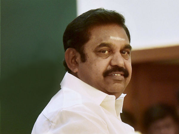 Edappadi Palanisamy leaves Delhi to participate in the swearing-in ceremony of Vice President