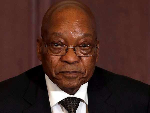 President Jacob Zuma wins in the vote of no confidence
