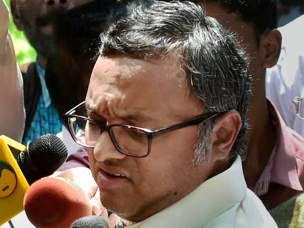 Look out notice issue to Karthi Chidambaram on Forex violations