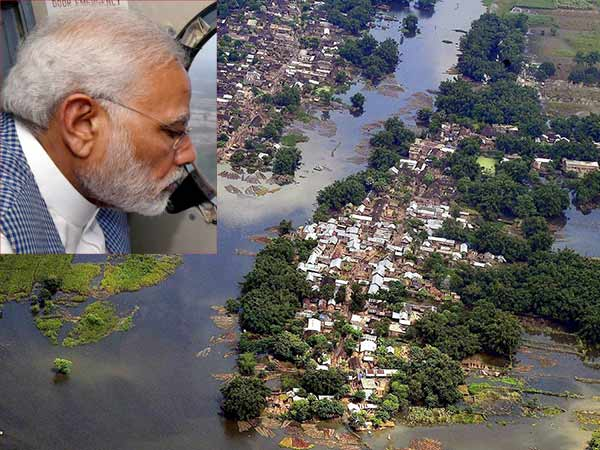 PM Modi announced Rs. 500 crore as immediate flood relief for Bihar