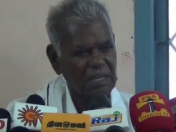 'We won't allow to take sand from Thamirabarani River' says Communist Party Of India Leader Nallakannu