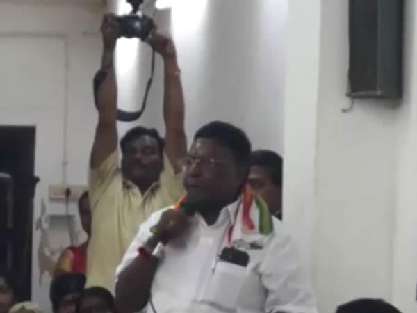 Puducherry Cm Narayanasamy satired Bjp government
