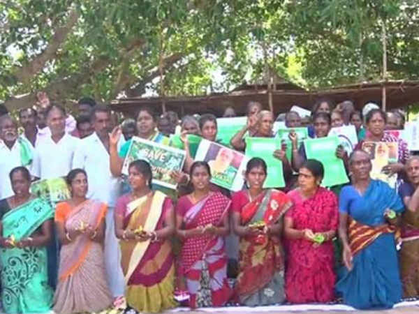 Neduvasal people protest against Hydrocarbon for 123 rd day