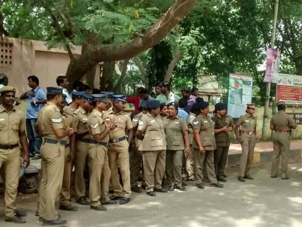 Police on the search after getting information on naxal