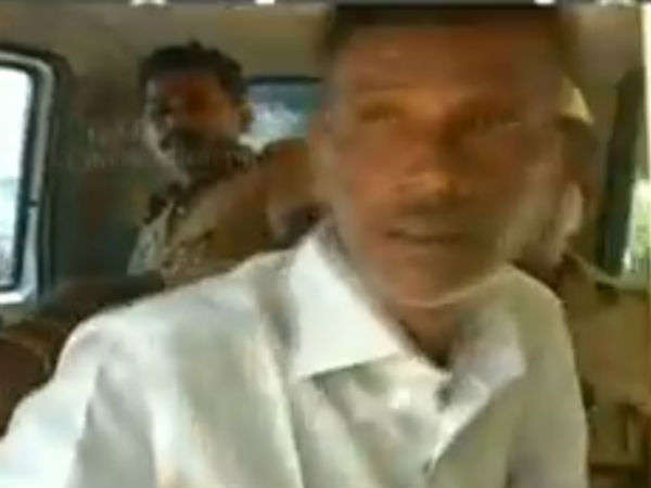 Police decided to release the man who tried to attack OPS in Trichy