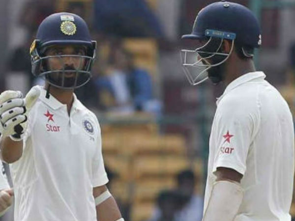 Colombo Test, Day 1 : KL Rahul 52 , India 101/1 at lunch