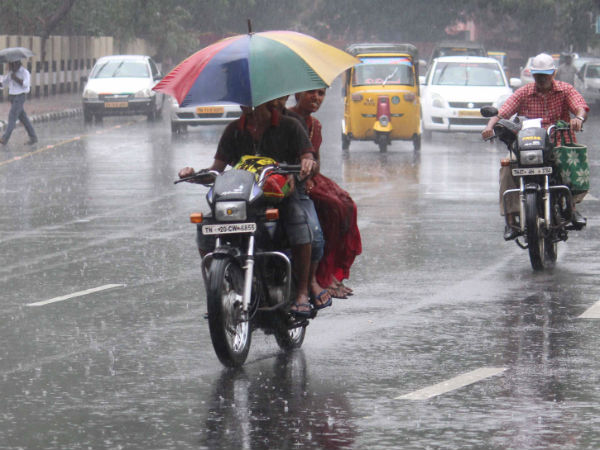 Chennai Metrology predicts rain for next 24 hrs in Tamilnadu
