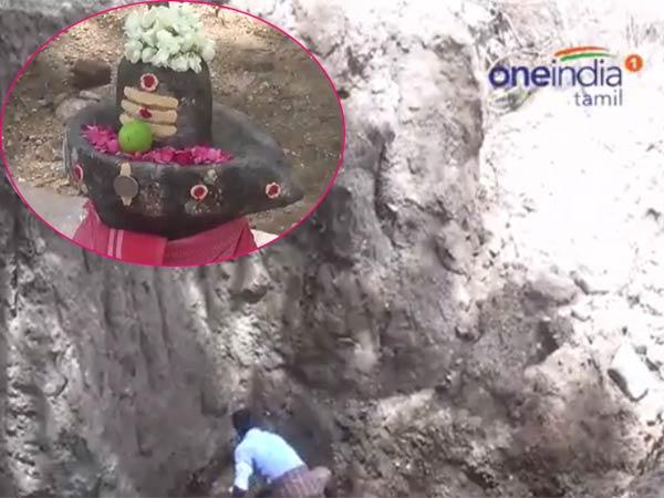 பூமிக்கடியில் 20 அடி ஆழத்தில் சிவன் கோயில்.. பக்தரின் கனவு பலித்தது: வீடியோ