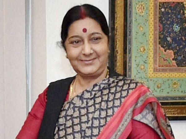 பார்சிலோனா தாக்குதலில் இந்தியர்கள் தாக்கப்படவில்லை: சுஷ்மா ஸ்வராஜ்