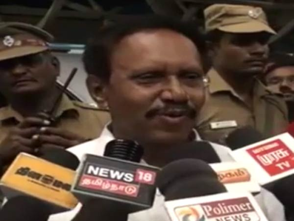 Translations available in English or Hindi says Thambidurai