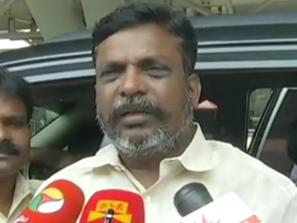 Thirumavalavan urges Gujarat CM to apologize for Rahul Gandhi car attack