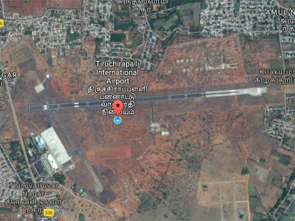 Trichy Airport extension, VAO arrested by people