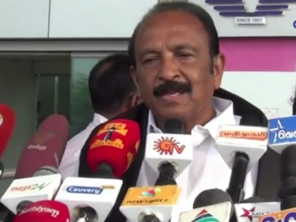 Mdmk general secretary Vaiko blamed central government in hydro carbon issue