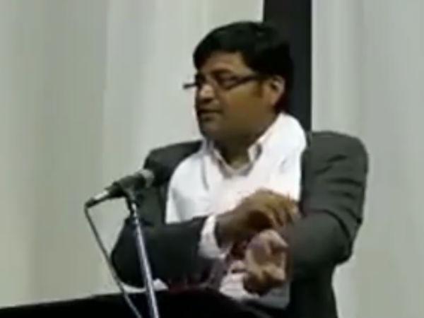 அர்ணாப் அண்டப்புளுகு.. அம்பலப்படுத்திய ராஜ்தீப் சர்தேசாய்!