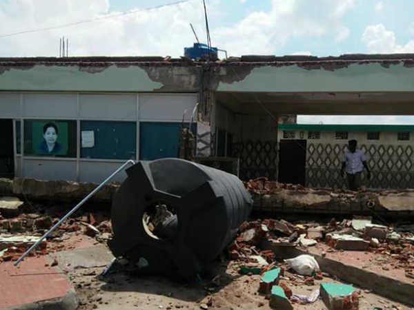 Five killed in building collapse in Coimbatore